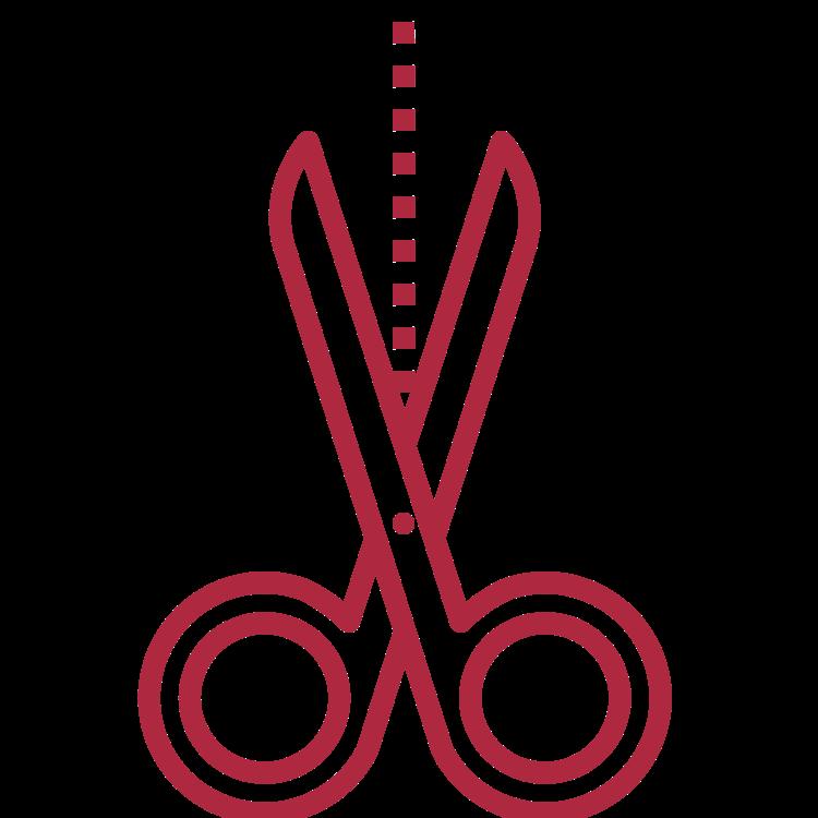 Textile scissors